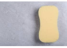 黄色曲线海绵_7497342