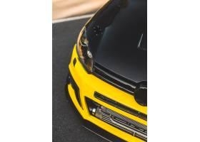 汽车黑色黄色体育样式自动调整汽车_5895971
