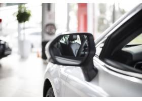 侧视图新车前侧与镜子_5878226