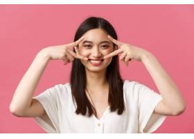 美容人们情感和夏天休闲概念 kawaii微_17105618