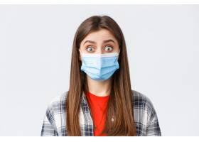 冠状病毒爆发休闲在检疫社会疏远和情感_17012363