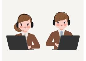 呼叫中心和客户服务角色_12862768