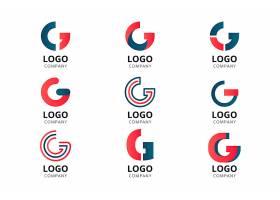 创意字母g logo模板_13961827