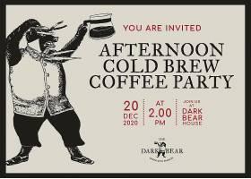 可编辑的商务邀请卡模板企业形象为咖啡店_16327034