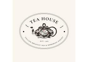 咖啡馆套餐的美学徽章模板从公共领域的艺_16342681