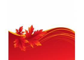 秋天槭树离开背景传染媒介例证eps 10_16248194