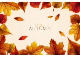 详细的秋天背景_16391213