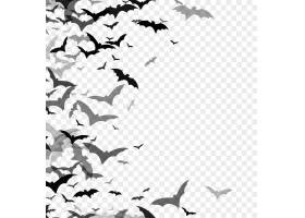 在透明背景隔绝的棒黑剪影万圣节传统设计_16247948