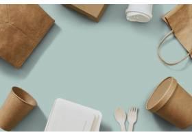 食物包裹框架在交付概念_17229548