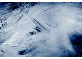 蓝色刷子冲程织地不很细背景_15440788