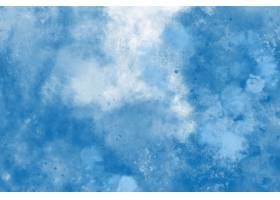 蓝色水彩背景_12713180