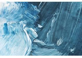 蓝色油漆冲程织地不很细背景_13462556