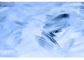 蓝色油漆刷子织地不很细背景_13299801