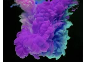 紫色和蓝色云彩摘要_15438905