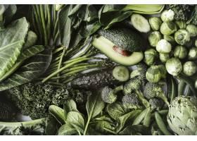 绿色蔬菜平躺为健康饮食_15851012