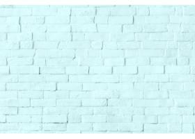 柔和的蓝色砖墙织地不很细背景_15653524