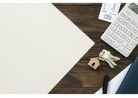 房地产纸融资和预算概念_17229526