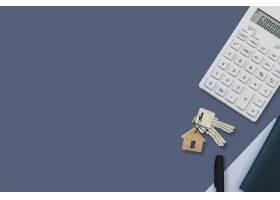 房地产计算器财务和预算概念_17229532