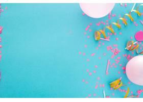 党或生日横幅与文本的空间_10147832