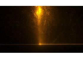 金色闪闪发光能量爆裂在天空壁纸_16162409