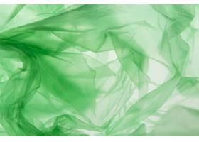 绿色塑料袋的平的位置安排_12182629