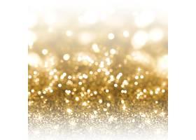 金闪烁圣诞节背景_3590515