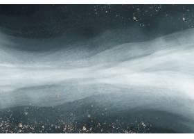 金闪烁海洋波浪有水彩纹理背景_15559507