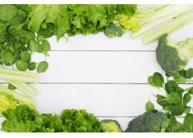 背景由菜制成健康食物概念_8759439
