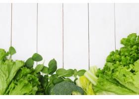 背景由菜制成健康食物概念_8759443