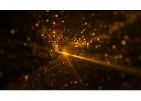 闪闪发光的bokeh金色背景设计_16162398