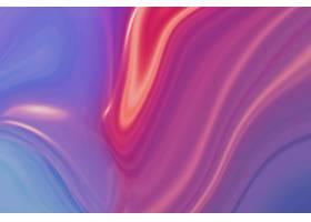橙色和蓝色波浪背景_16018371
