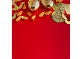 新年中国2021复制空间红色背景_11143725