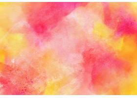 桃红色和黄色水彩纹理背景_12712885
