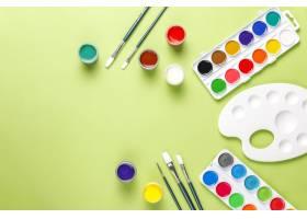 套绘画和图画的五颜六色的辅助部件_14964445