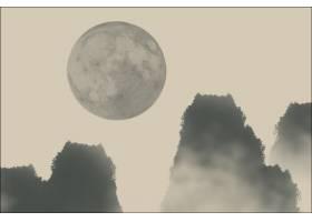 中国圆形绘画景观禅_1174445