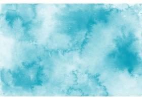 典雅的蓝色水彩背景_13543620