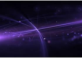 与发光的粒子的紫色抽象背景_897921
