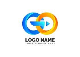 详细的go logo模板_14852529