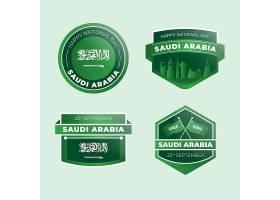 详细的沙特国国日标签集合_16389983