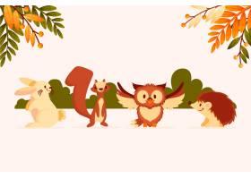 秋季动物收藏_16391248