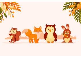 秋季动物收藏_16391272