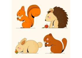 秋季动物收藏_16676876
