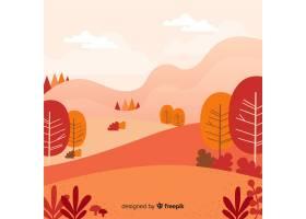 美好的秋天背景_2728739