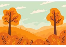 美好的风景的秋天例证_17762461
