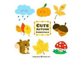可爱的秋季必需品_809246