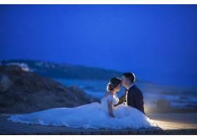 新娘和新郎夫妇婚礼_14376094