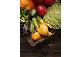 顶视图秋天蔬菜安排_9859156