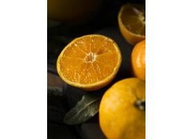 高角度多个秋季橙子_10298141