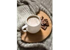 高角度杯咖啡布置_9859160