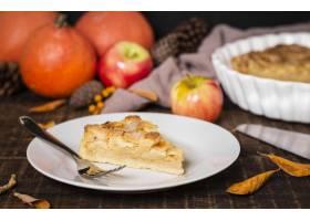 高角度板材有感恩苹果饼切片_9700286